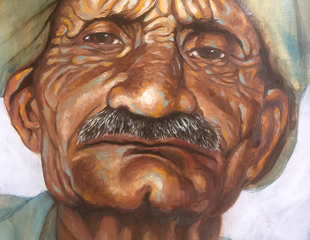 Old Man with Turban